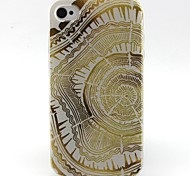 Carpet Pattern TPU Case for iphone 4G/4S