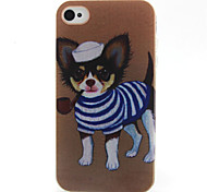 Puppy  Pattern TPU Phone Case for iPhone 4/4S