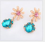 Cusa  Flower Shape Earrings