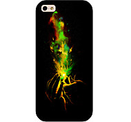 Magic Hand Pattern Phone Back Case Cover for iPhone5C