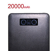 RSEB 20000mAh LCD Display Portable Mobile Charger/Power Bank for iPhone6/6 Plus/Samsung Note4/Sony/HTC