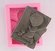 angioletto muffa del sapone del silicone
