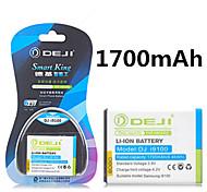 de ji hoge capaciteit 3.8V 1700mAh li-ion vervangende batterij voor Samsung Galaxy S2 i9100 i9103 i9188 I9108 i777 i9101