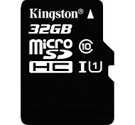 classe Kingston 32gb 10 carte mémoire microSDHC de SDHC UHS-1