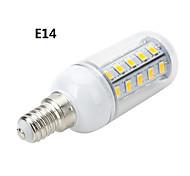 marsing® e27 / e14 6w 600lm 36 x smd 5730 llevó cálida candeleros / fría luz blanca de maíz (ac 220v)