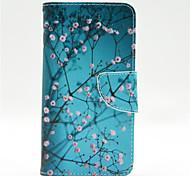 Для Кейс для Nokia Кошелек / Бумажник для карт / со стендом Кейс для Чехол Кейс для дерево Твердый Искусственная кожа NokiaNokia Lumia