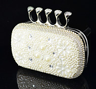 Handbag Crystal/ Rhinestone/Metal/Luxurious Satin Evening Handbags With