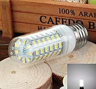 e27 6w 750lm 6500k / 3500k 69-SMD 5730 llevó blanco / caliente de la lámpara de maíz de luz fría (220v ~ 240v)
