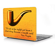 """Tobacco Pipe Design Full-Body Protective Plastic Case for 12"""" Inch The New Macbook with Retina Display"""