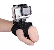 Universal Black 360 Degree Spin Glove Style Camera Compression Band with Screw for Camera Gopro