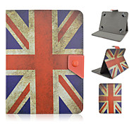 The Union Jack Pattern High Quality PU Leather with Stand Case for 10 Inch Universal Tablet