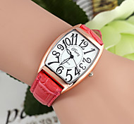 Fashion Rectangular Shaped 31mm Metal/Leather Watch(5 Colors)(1Pc) Cool Watches Unique Watches