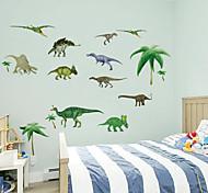 3d стены стикеры стены наклейки наклейки в стиле динозавров ПВХ стены
