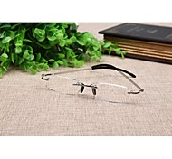 Men 's Rectangle Rimless Reading Glasses