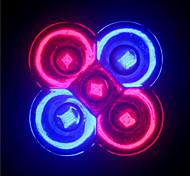 5W GU10 / E26/E27 Focos LED MR16 5 LED de Alta Potencia 500 lm Rojo / Azul AC 85-265 V 1 pieza
