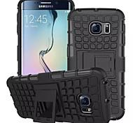 Для Кейс для  Samsung Galaxy Кошелек / Защита от удара / со стендом / Флип Кейс для Задняя крышка Кейс для Армированный PC для SamsungS7