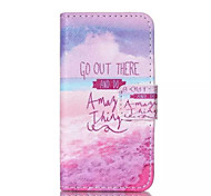 Create a Dream Pattern PU Leather Painted Phone Case For iPhone 4/4S