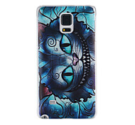 Cat Pattern PC Material Phone Case for Samsung Galaxy Note 4