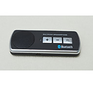 Somake Speakerphone Hands Free Car Kit: Support 5 Languages Selection and Connect 2 Phones Simultaneously P03-BT Speaker