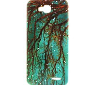 Root Pattern TPU Material Soft Phone Case for LG L90 D405