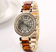 Luxury Casual Gold Watch Stainless Steel Watch Dress Watches Crystal Electronics 2015 Reloj Watch