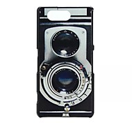 Camera Pattern PC Material Phone Case for Sony Z3 Mini