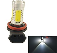 Carking™ H8/H11 11W 5SMD 660ML 6000K White Light LED Fog Light Head Lamp Driving Bulb(DC 12V)