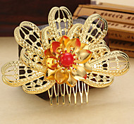 2015 New and Fashion China Style Bride Jewelry Crystal Hair Combs Wedding 1pc