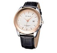 2015 New Simple Fashion Diamond Numerals Faux Leather Analog Quartz Watch Men Watches Wrist Watch