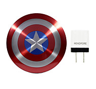 Maevel Shield of Captain America 6800mAh Power Bank External Battery For Iphone , Samsung And Any USB Device
