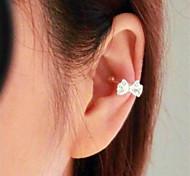Damen Ohrring Legierung Kubikzirkonia Hoop Ohrringe
