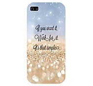 The Stars Pattern Phone Back Case Cover for iPhone5C