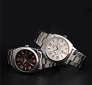 Aidu quartz de haute qualité de la ceinture de l'acier montre étanche de l'homme nouveau