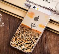 Herbst kommen Muster-TPU weicher Kasten für iPhone 5/5 s