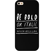 Be Bold Pattern Phone Back Case Cover for iPhone5C