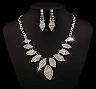 New Women's Fashion Earrings Necklace Exaggerated