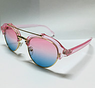 Sunglasses Women's Modern / Fashion Oval Pink Sunglasses Full-Rim