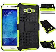 For Samsung Galaxy Case Shockproof / with Stand Case Back Cover Case Armor PC Samsung A8 / A7 / A5 / A3