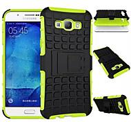caso defensor de serviço pesado com capa dura armadura híbrido impacto pontapé de stand para Samsung Galaxy A8 / A7 / A5 / a3 (cores