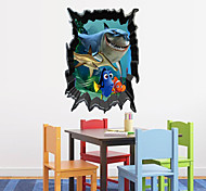 Cartoon Finding Nemo Shark PVC Wall Sticker Wall Decals