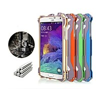 R-just Gundam Aluminum Bumper Metal Outdoor Case Cover F Samsung Galaxy Note 4