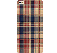 Grid Pattern Phone Back Case Cover for iPhone5C