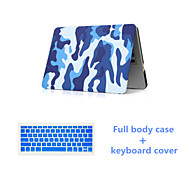 "Fashion Camouflage Full Body Case with Silicone Keyboard Cover for Macbook Air 11.6 "" (Assorted Colors)"