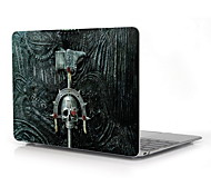 "Skull Design Full-Body Protective Plastic Case for 12"" Inch The New Macbook with Retina Display"