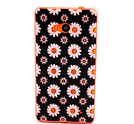 For Nokia Case Pattern Case Back Cover Case Flower Soft TPU Nokia Nokia Lumia 640