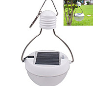 Solar PIR Motion Sensor LED Power Saving Bulb Camping Lantern Waterproof Light Indoor Outdoor White