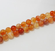 Beadia 39Cm/Str (Approx 39Pcs) Natural Stone Beads 10mm Round Natural Agate Beads DIY Accessories