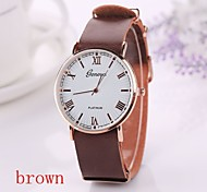 New  Fashion Pu Leather Strap Momen    Clock Relogio Quartz Casual Wrist Watch Momen Cool Watches Unique Watches