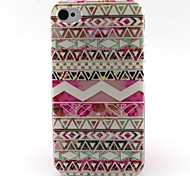 motivo a strisce materiale TPU soft phone per iphone 4 / 4s
