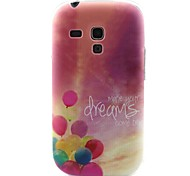 modello palloncino materiale TPU soft phone per mini i8190 galassia S3